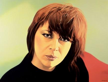 Chrissie Amphlett by Ivan Durrant