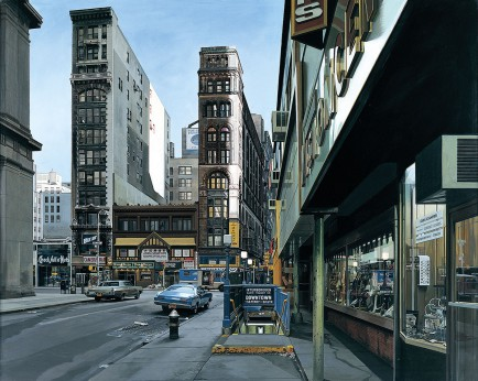 Richard Estes, Downtown, 1978