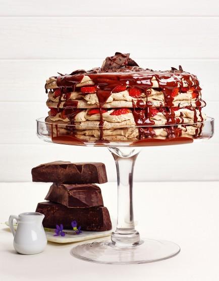 Chocolate and Hazelnut Dacquoise