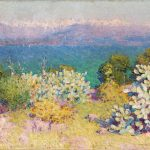 John Russell In the morning, Alpes Maritimes from Antibes 1890-91