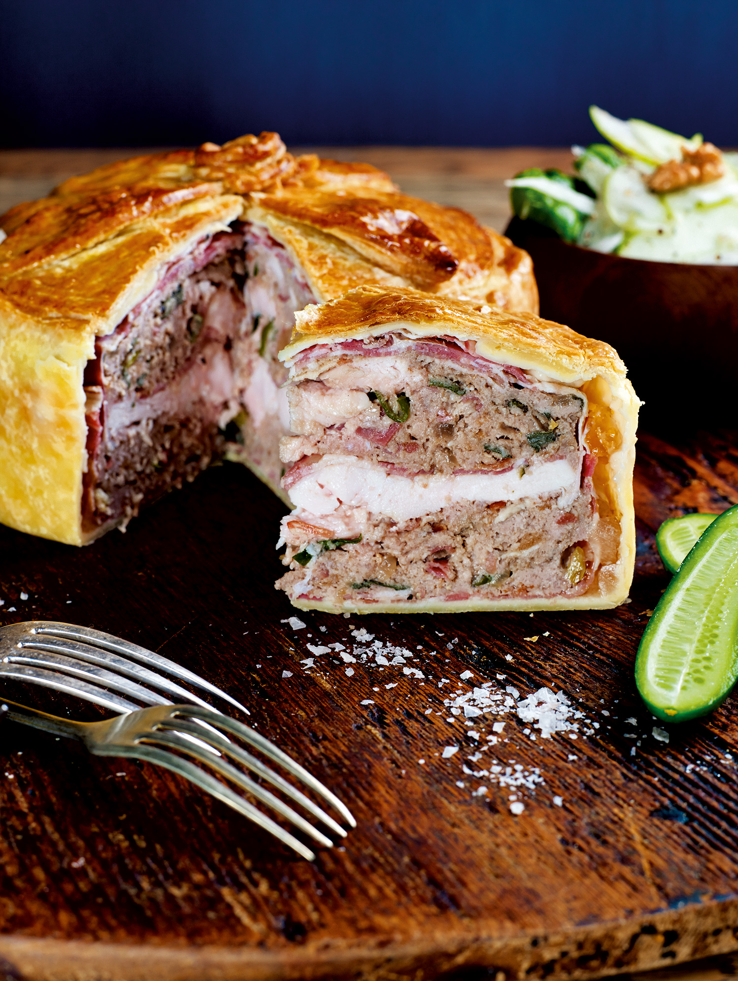 Pork Terrine Pie Recipe