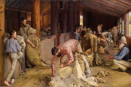 Tom Roberts, Shearing the Rams