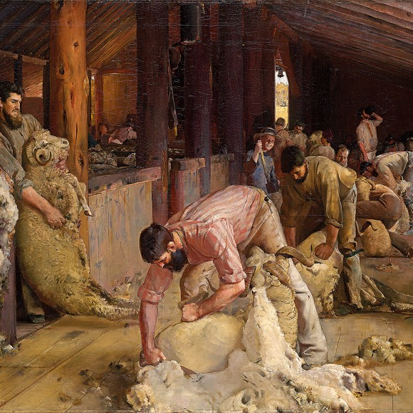 Tom Roberts, Shearing the Rams