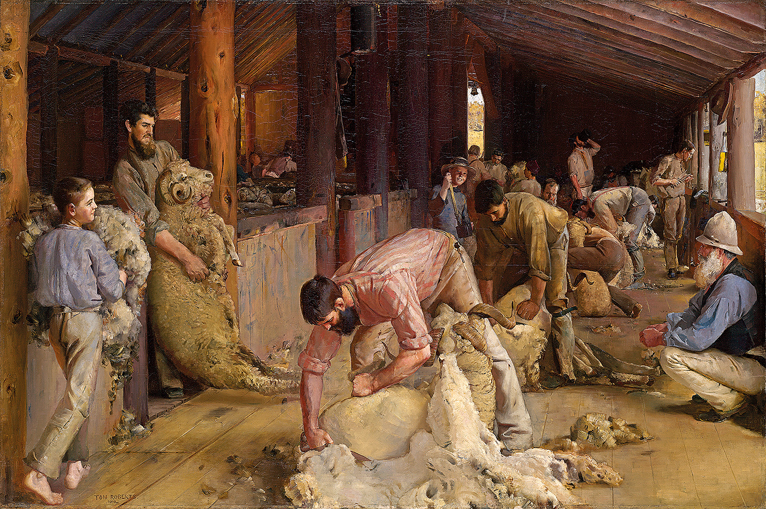 Tom Roberts – Sharing the Shed Dream