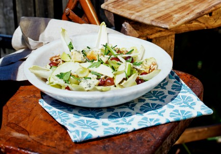 Waldorf Salad with Smoked Walnuts