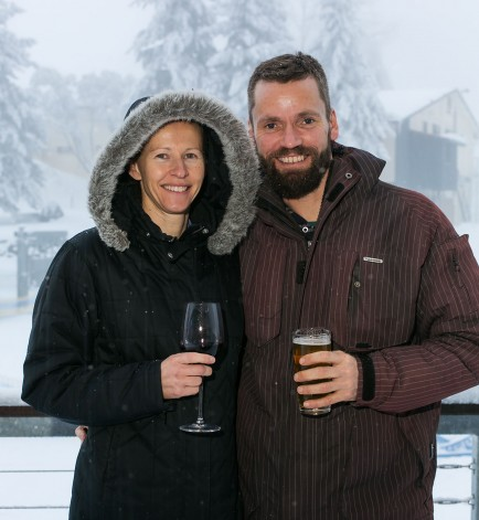 Jason and Melissa Moon of Be Foodstore, Falls Creek
