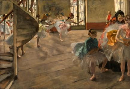 Edgar Degas, The Rehearsal, c. 1874