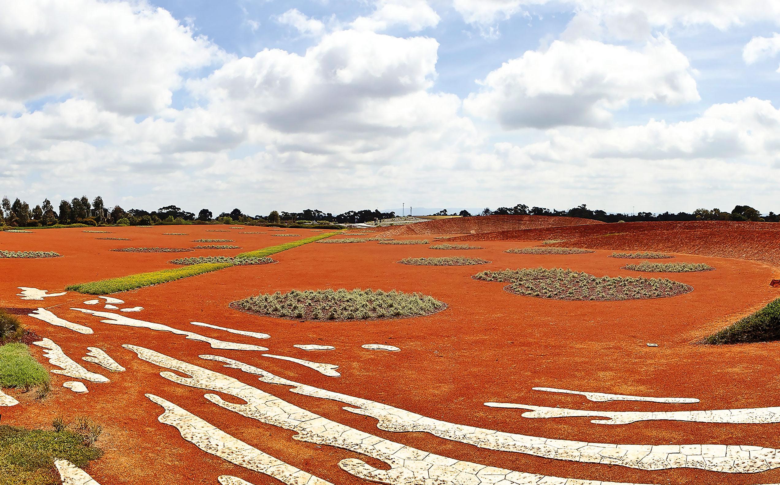 Red Sand Garden