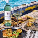 King River Estate Pinot Grigio 2016 with Crispy Skin Barramundi Fillet
