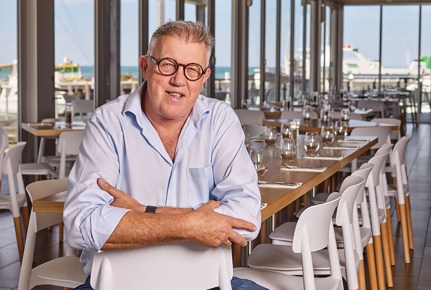 Sorrento culinary King Barry Iddles