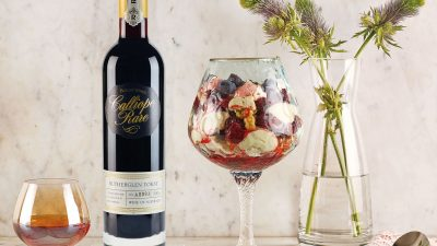 Buller Wines Rare Tokay with Eton Mess