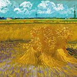 Vincent van Gogh, Wheatfield 1888 Arles,