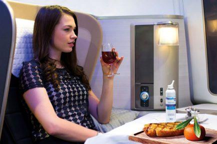 Heston Blumenthal stepped into British Airways' galleys, brandishing nasal douching devices