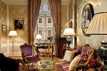 Fabergé Suite, Grand Hotel Europe, Saint Petersburg