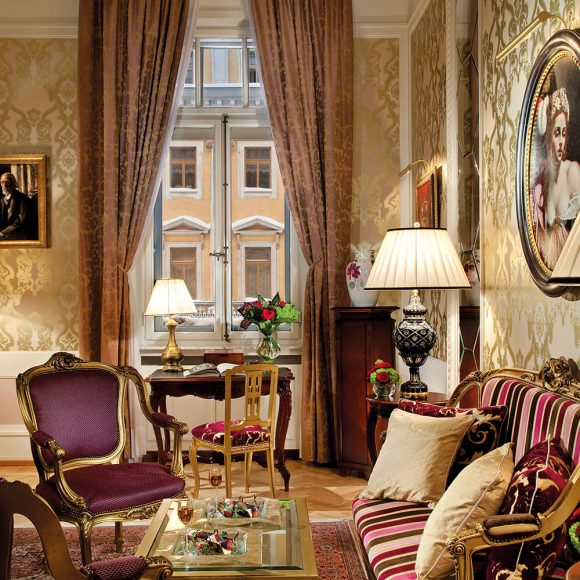 Fabergé Suite, Grand Hotel Europe, Saint Petersburg