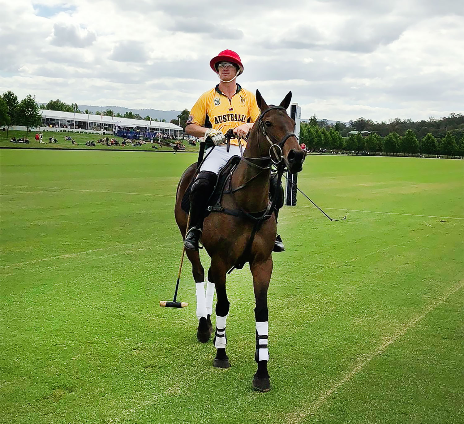 2017 Polo World Cup Australian team captain Jack Archibald plays at Portsea this weekend.