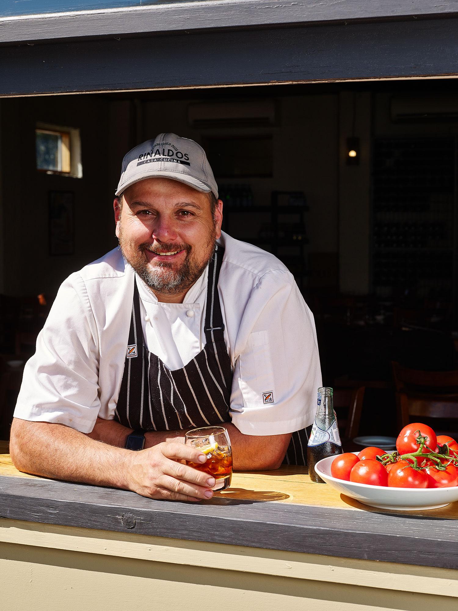 Chef Adam Pizzini
