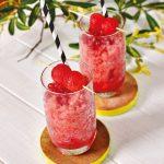 Watermelon Gin Slushies