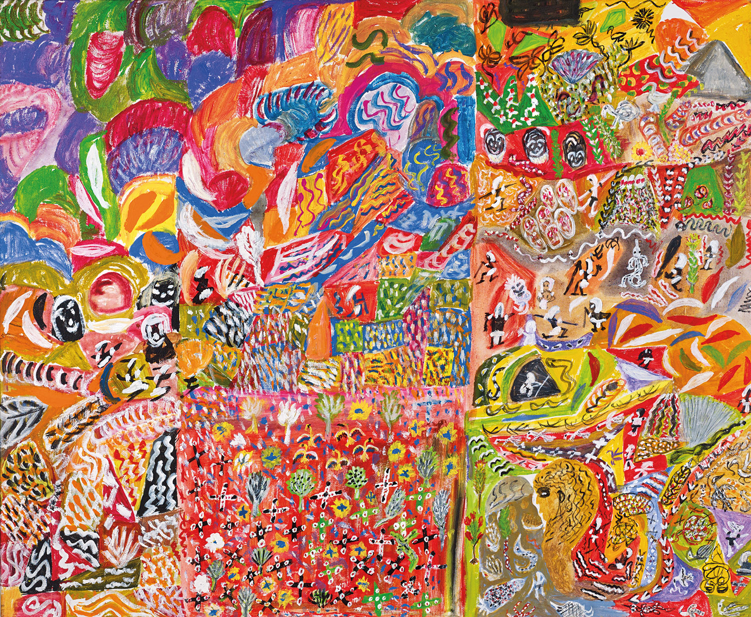 Spirits in the Scrub – The artists of Ngukurr