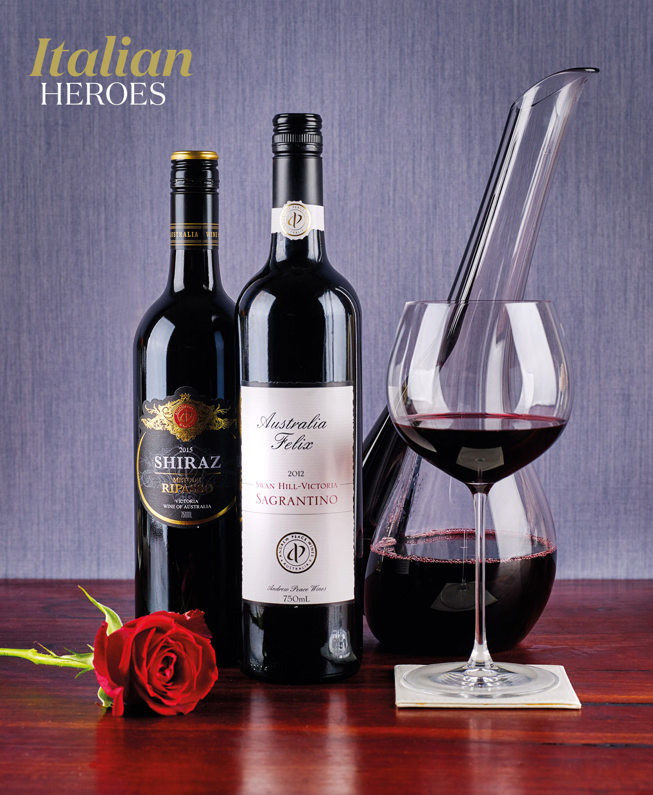 Italian Heroes – Andrew Peace Wines, Swan Hill