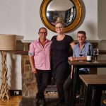 Empire Hotel owners Owners Andrew Madden, Shauna Stockwell and Scott Daintry