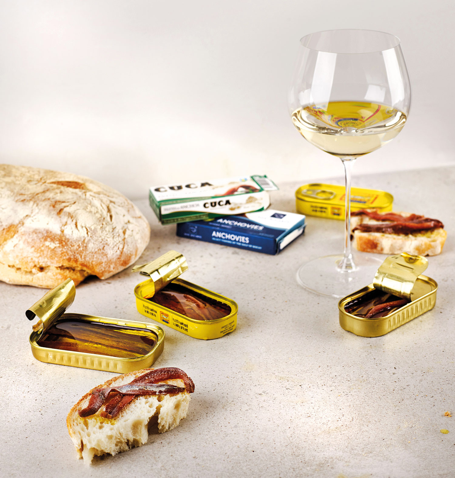 3 of the Best: Anchovies