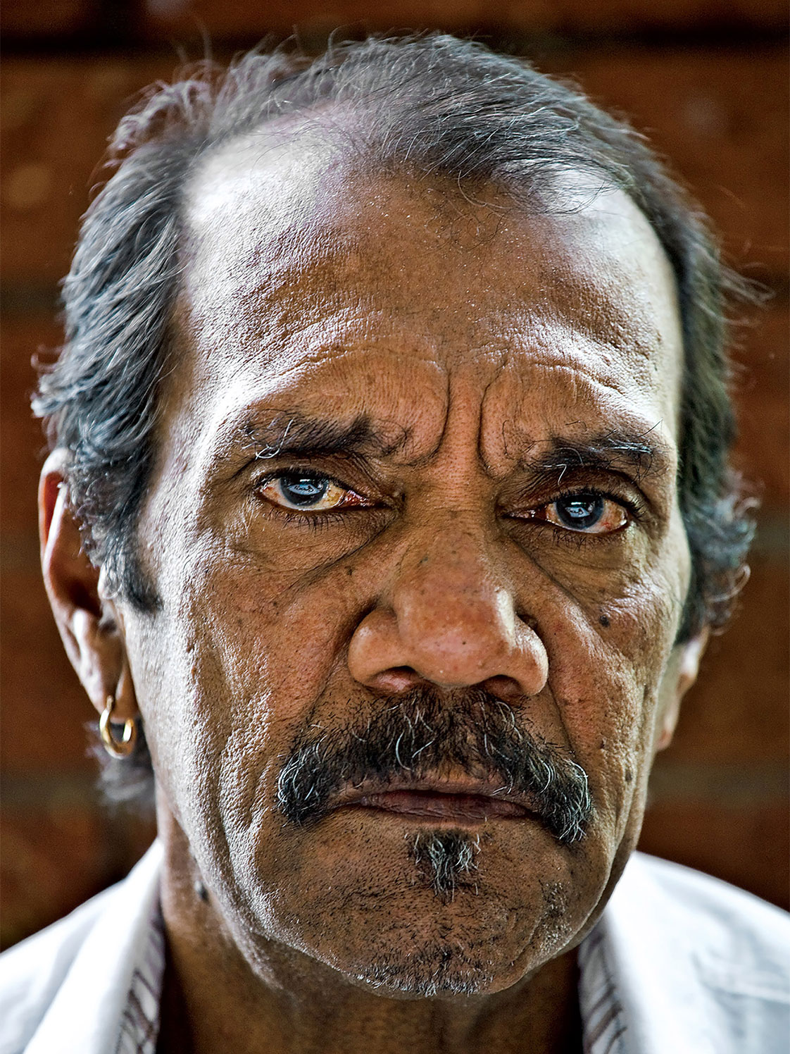 Palm Island Aboriginal elder, Billy Doolan