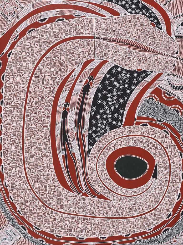 Billy Doolan, Giri-illa, 2010, 92 x 119 cm, Acrylic on canvas