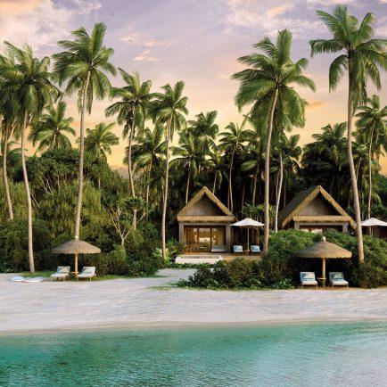 Beachfront Pool Villas - Six Senses Fiji