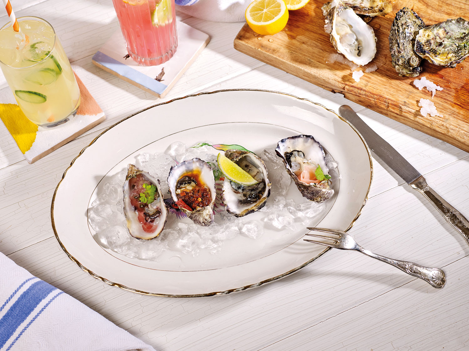 NYC Chef-inspired Recipes: Grand Banks Oysters 3 Ways