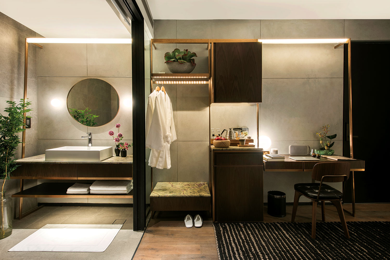 The Warehouse Hotel Sanctuary Ensuite Bathroom