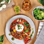 Tomato & Caramelised Shallot Tart