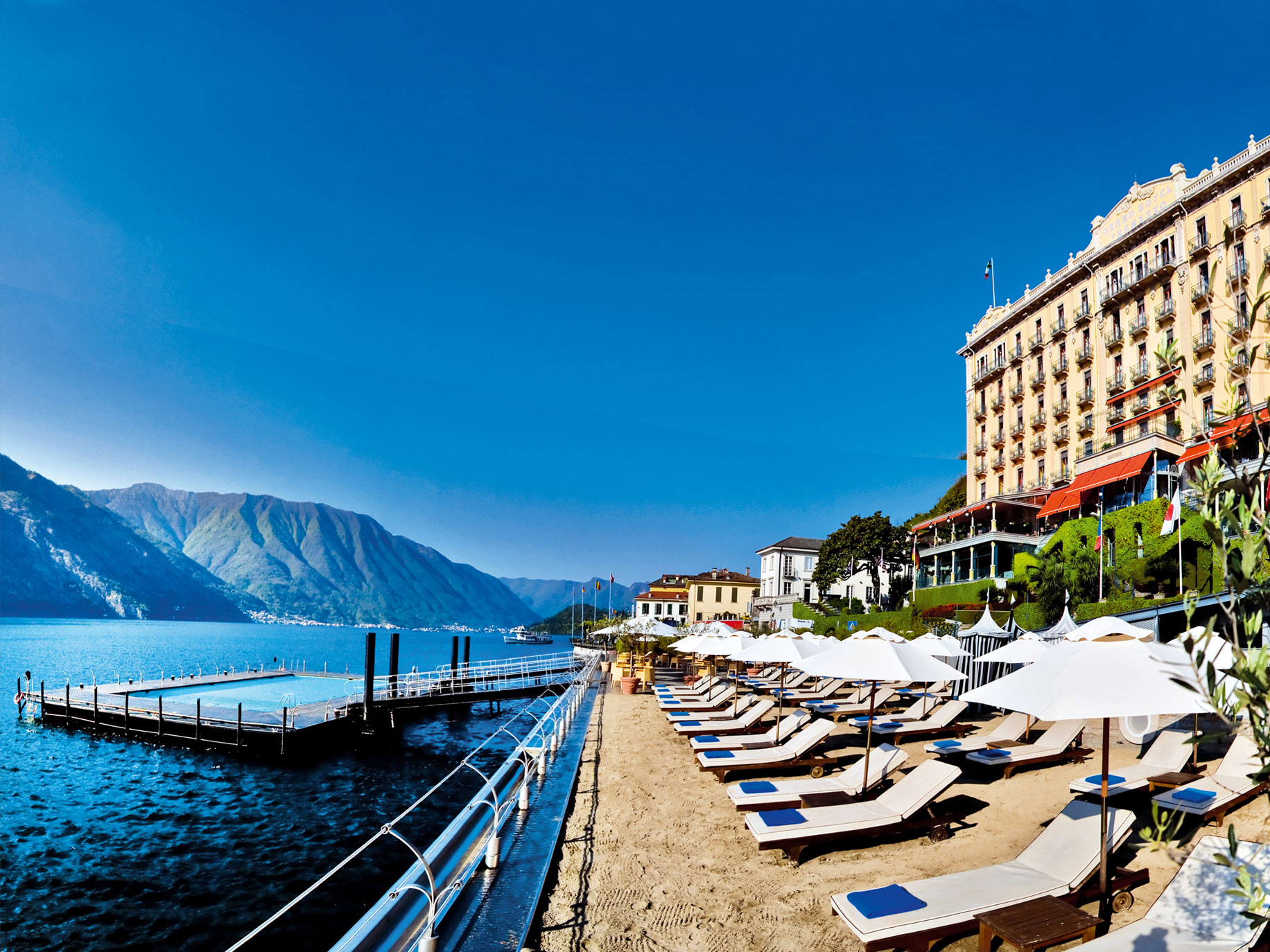 Lake Como Grand HotelTremezzo Beach