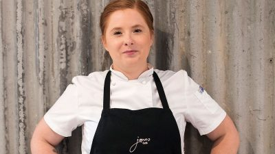 Rutherglen's Globetrotting Chef Briony Bradford joins Jones Winery Restaurant
