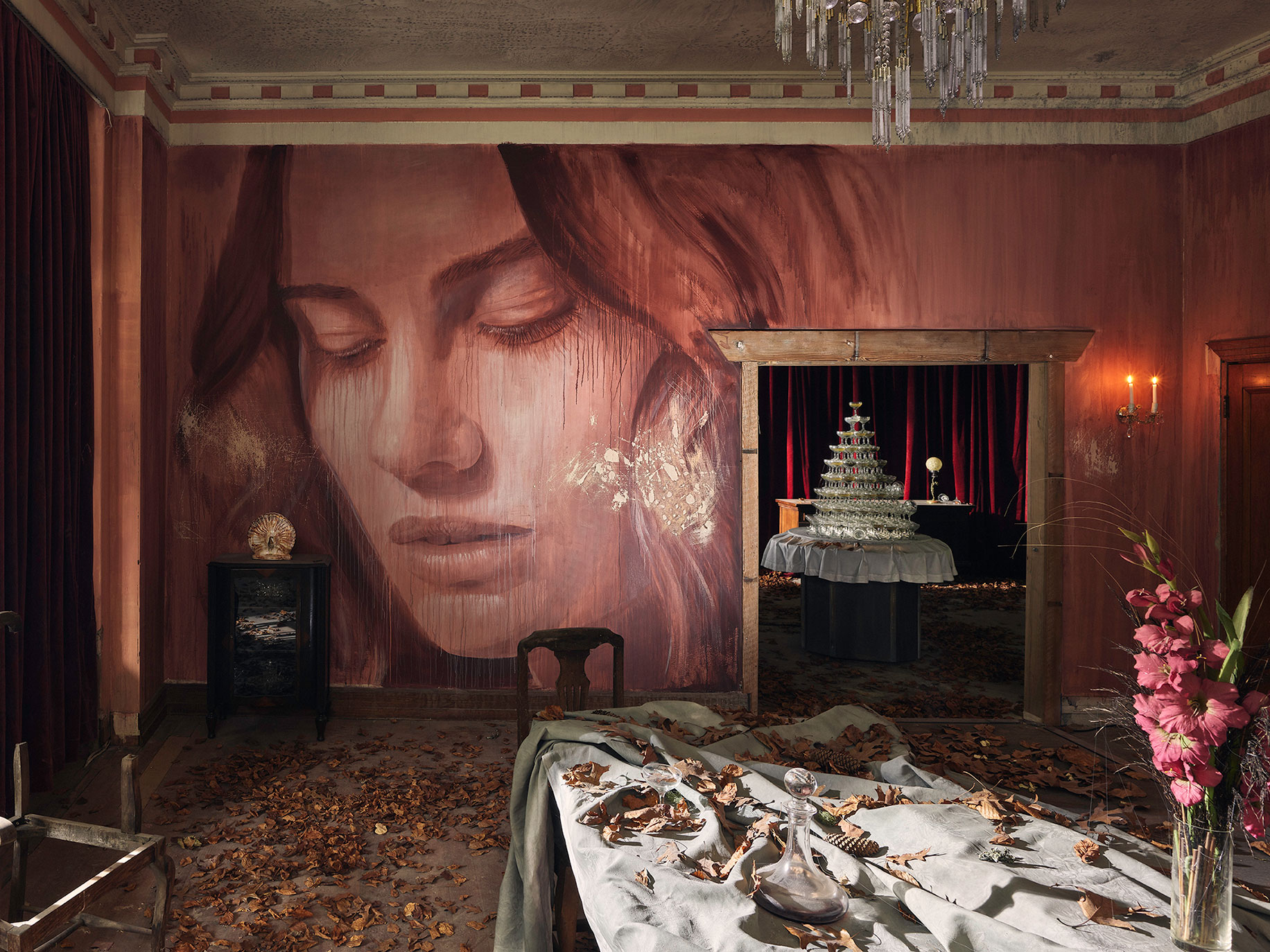 Rone's 'Empire' at Burnham Beeches – Art that Celebrates the Decline into Ruin