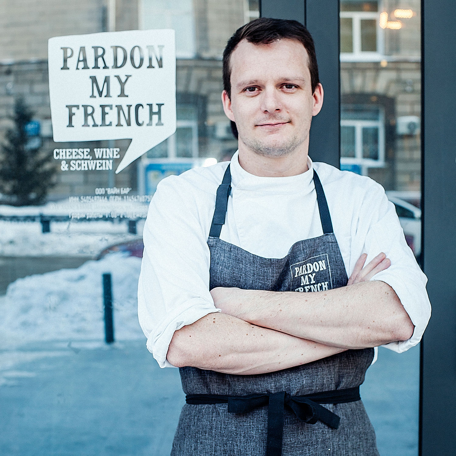 François Fournier, chef/owner of Pardon My French Wine Bar, Novosibirsk