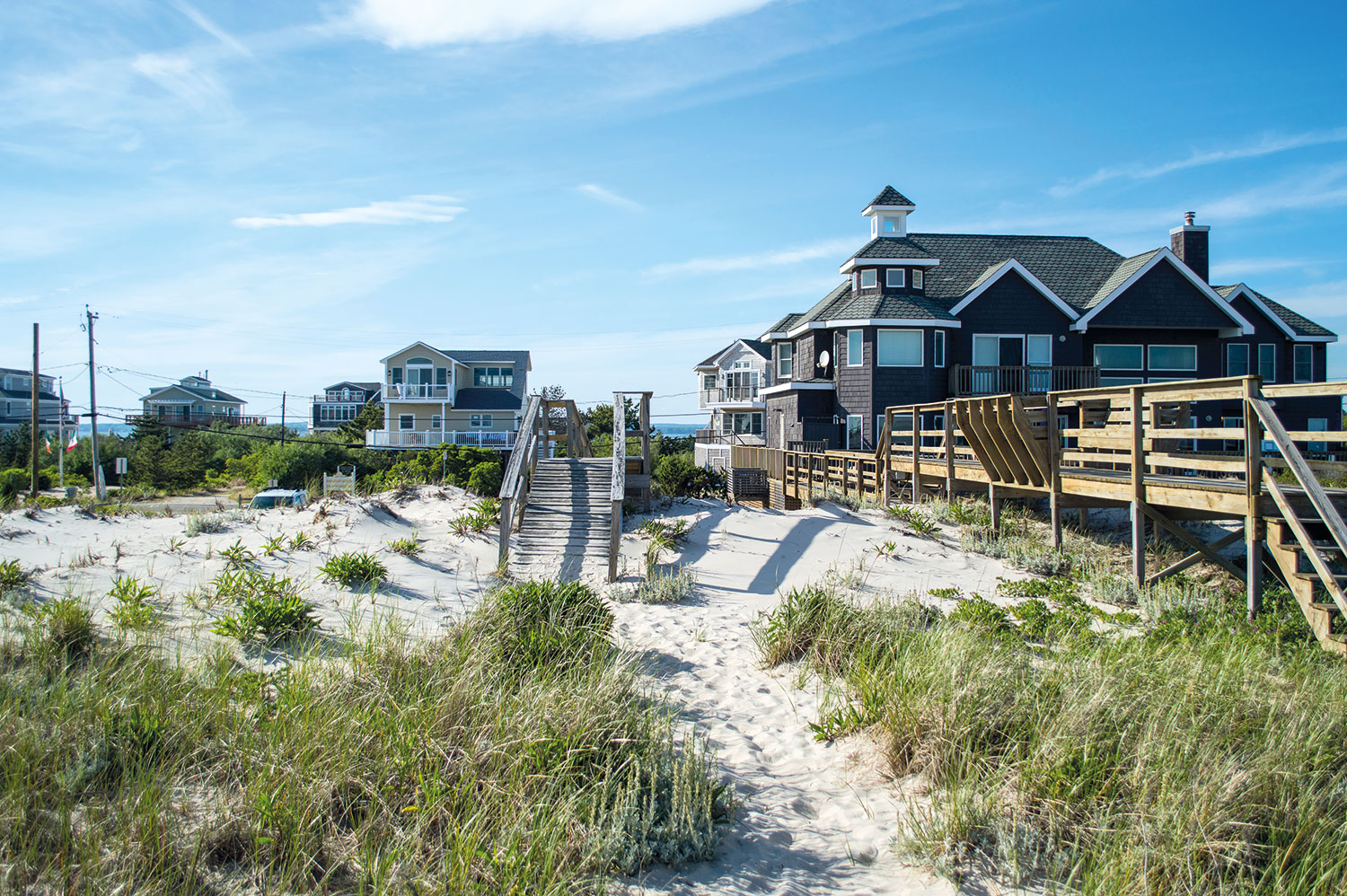 East Hamptons Beach, home to bay Kitchen & Bar