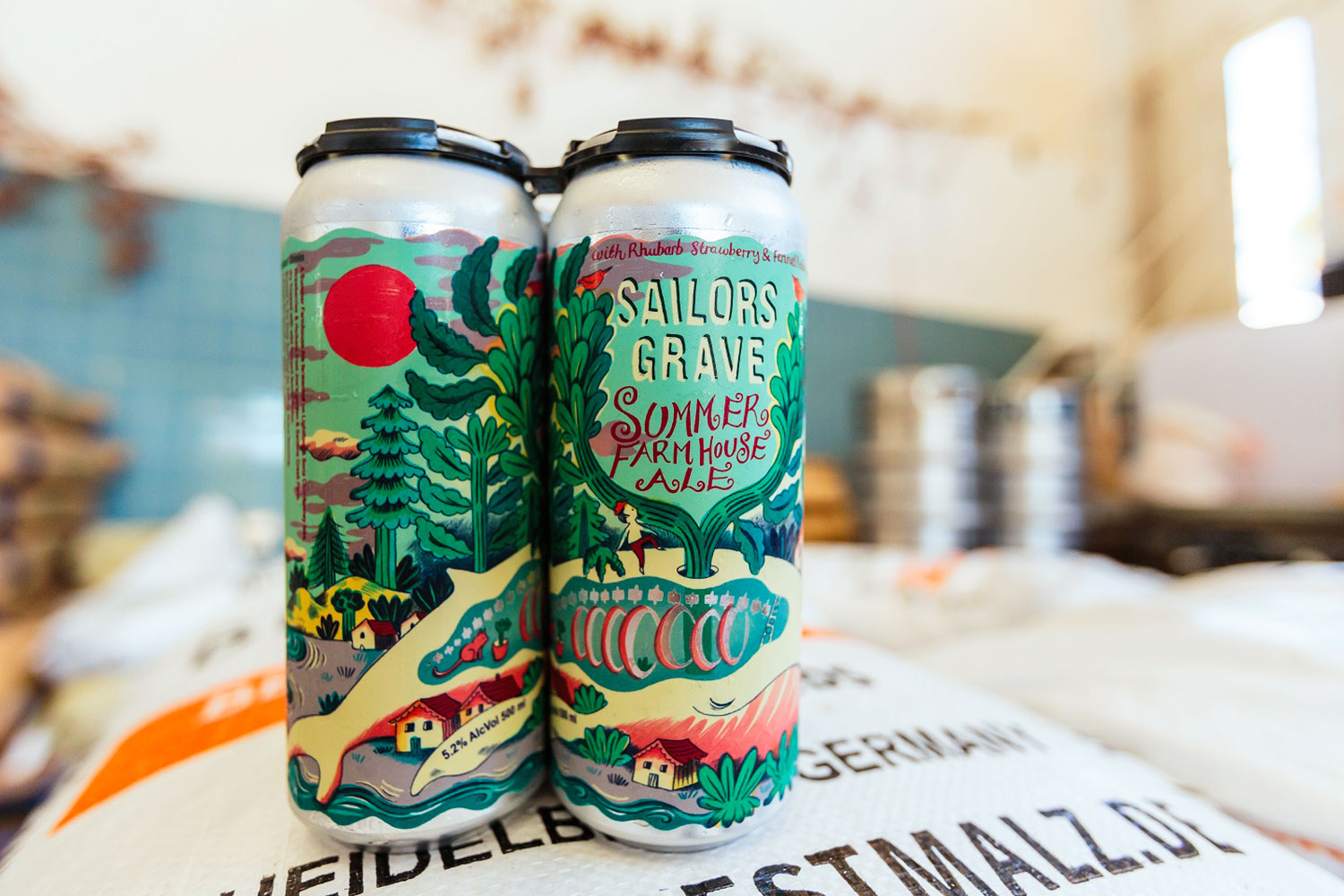 Sailor's Grave Brewing Summer Farmhouse Ale