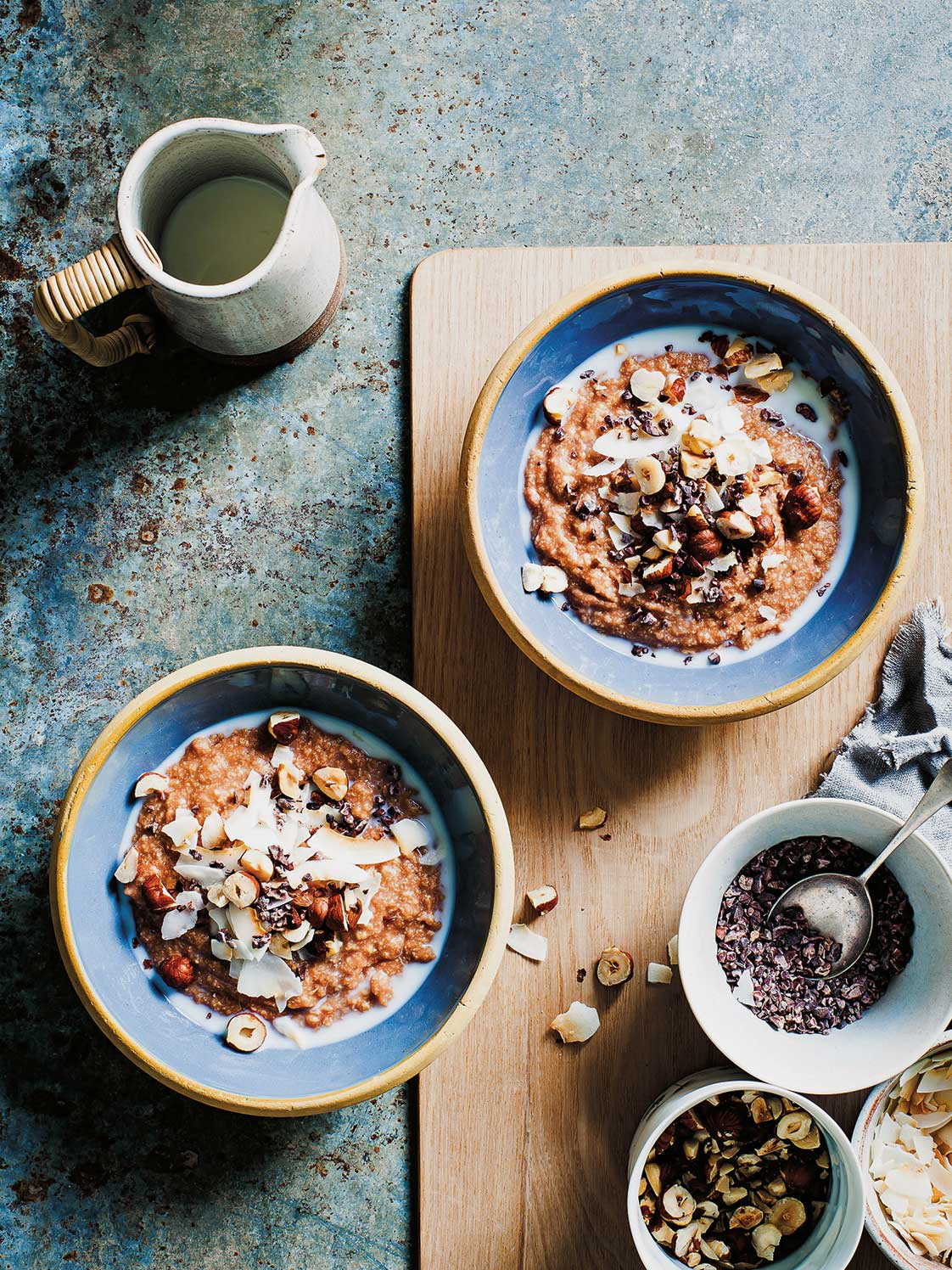 Nordic Light: Millet Porridge, Cardamom, Cacao & Coconut