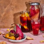 Davidson Plum and Red Currant Fruit Kompot