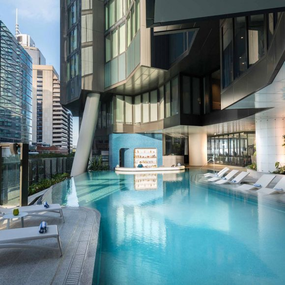 The Nautilus Pool Bar - Westin Hotel, Brisbane