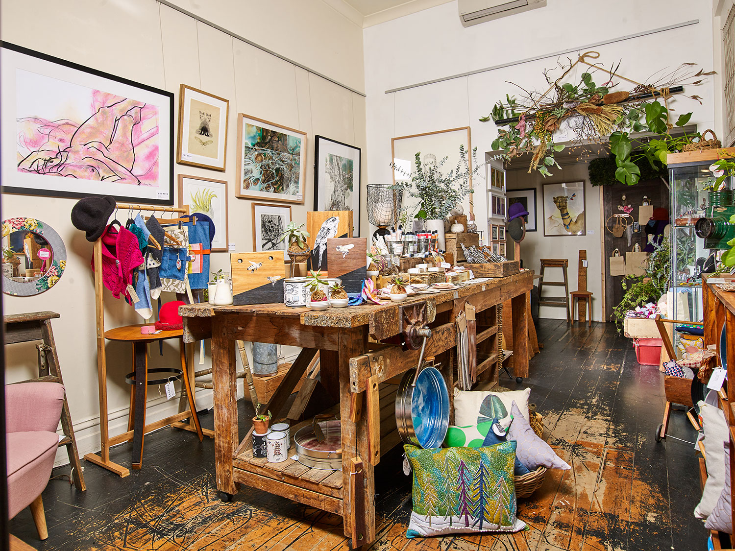 Explore the range of fine art and handmade craft products at Arcadia Gallery