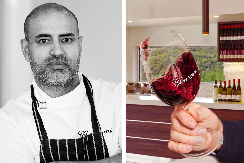 Head Chef Armit Kumar; Italian varietal wines feature at Chrismont