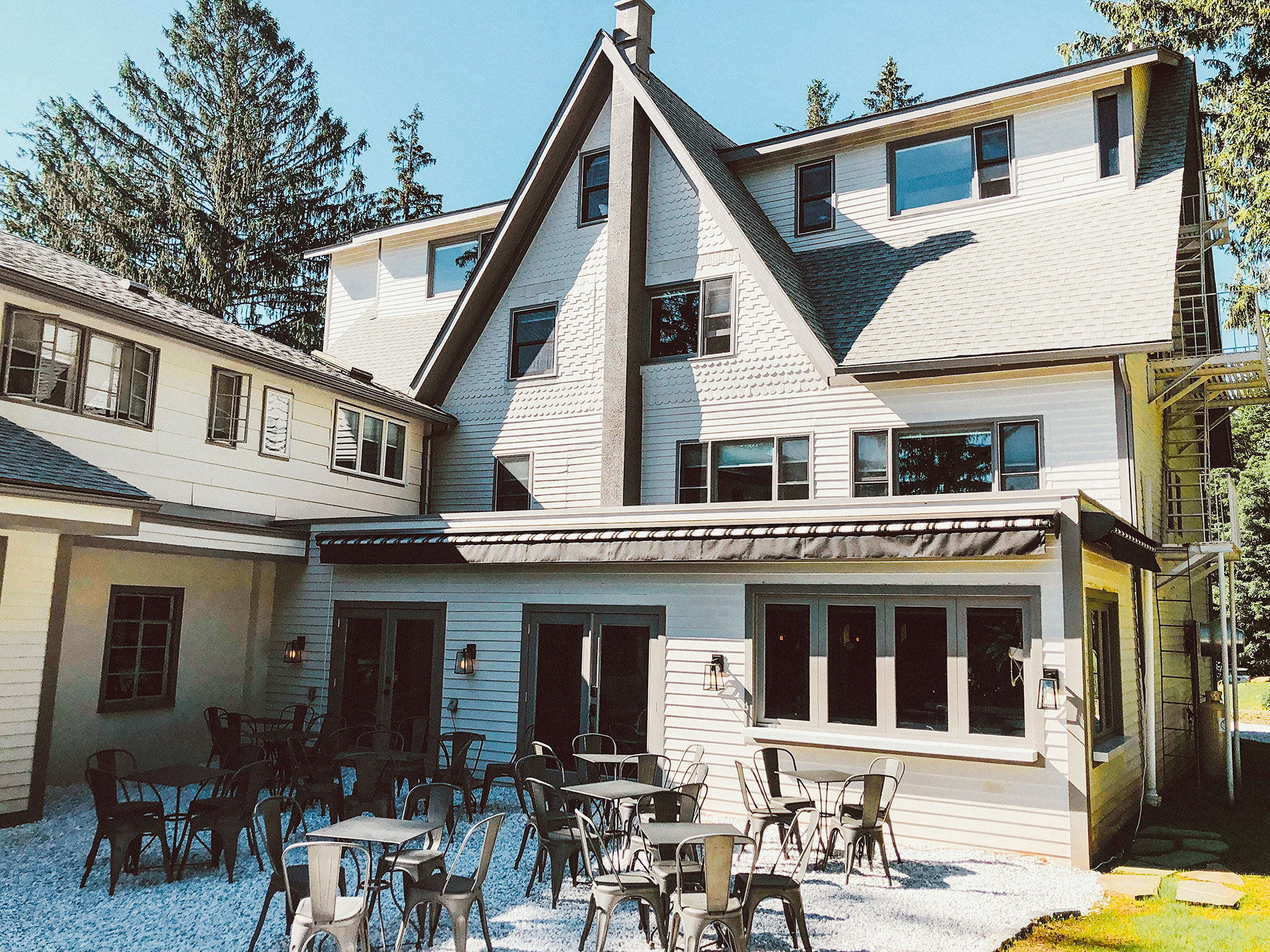 Farmhouse Catskills forms a social hub for the community and country inn visiting guests