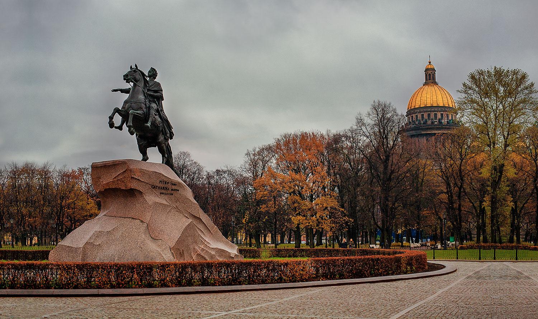 The Bronze Horseman Медный всадник, Saint Petersburg, Russia