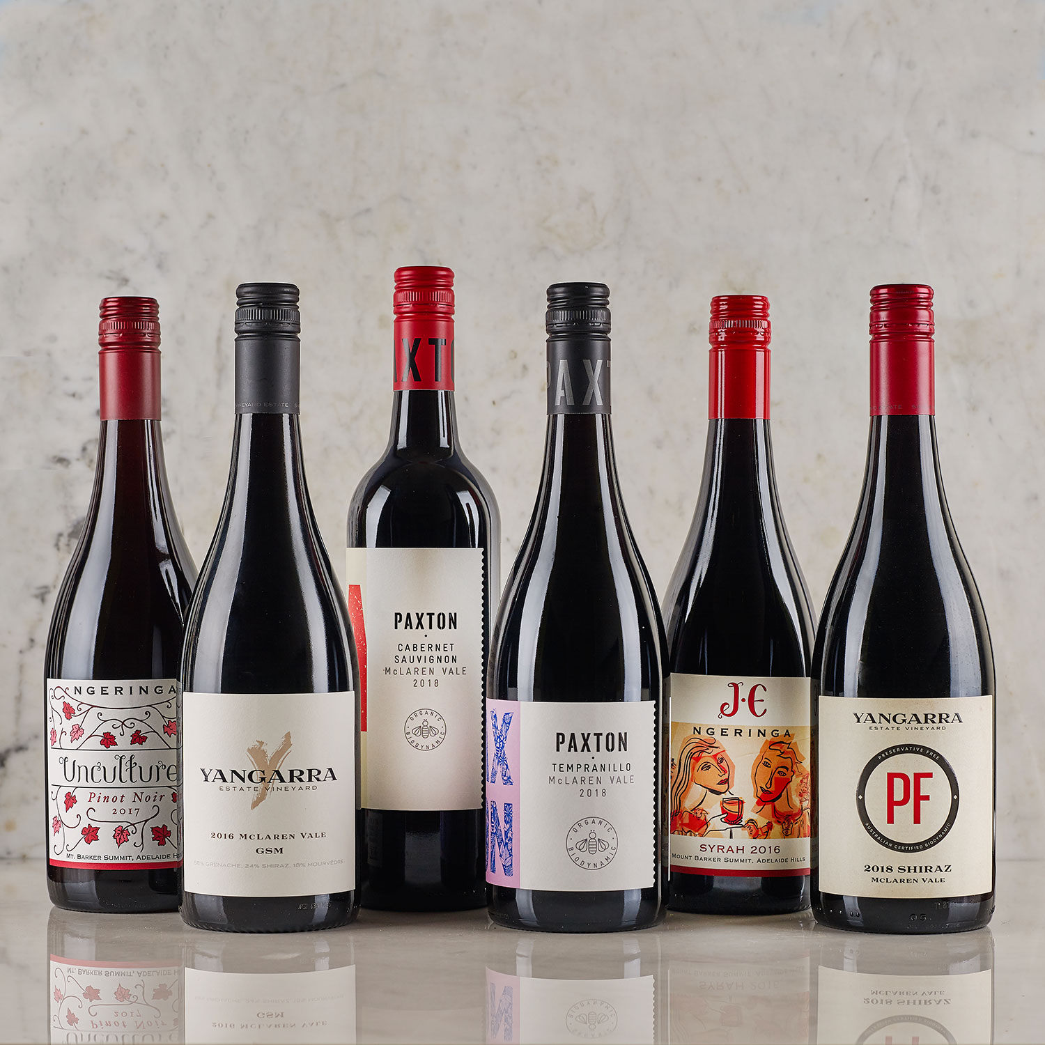 Epic Wines Online's Ultimate Reds pack, featuring certified organic and biodynamic wines